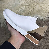 Кроссовки Hermes Miles Sneakers White/Beige