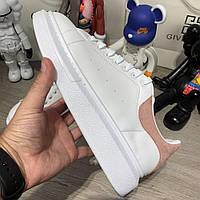 Кроссовки Alexandr McQueen Oversized White/Pink