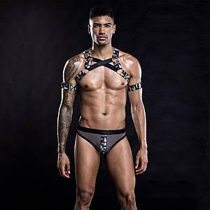 Чоловічий еротичний костюм з портупеєю Дикий Джеймс
