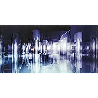 Bild Glas Sky World 80x160cm