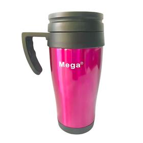 Термокружка MEGA PR040 з ручкою 400 мл, Бордовий