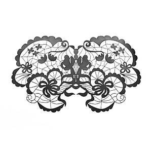 Маска на обличчя Bijoux Indiscrets - Anna Mask, вінілова, клейове кріплення, без зав'язок