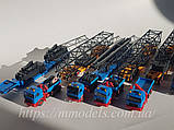 Kibri 10356 Набор автомобилей для перевозки крана Gottwald,б/у, масштаб H0,1/87, фото 3