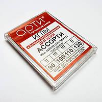 """Иглы швейные  """"АРТИ"""" (№90 №100 №110 №120) для кожи (10шт) ассорти, к бытовым швейным машинам"""
