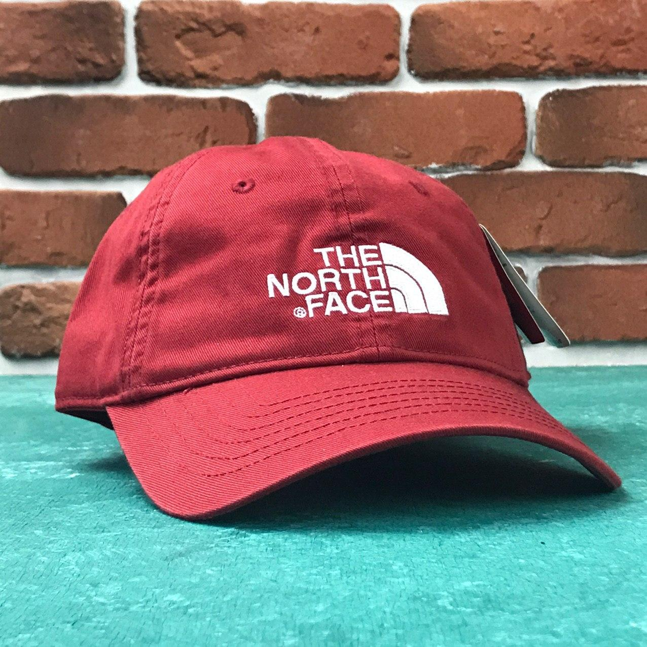 Кепка Бейсболка Мужская Женская The North Face TNF Красная