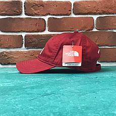 Кепка Бейсболка Мужская Женская The North Face TNF Красная, фото 2