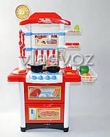 Детская кухня для девочки игрушечная Kitchen красная