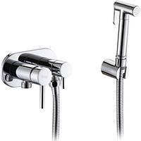 Гигиенический душ со смесителем Frap F7508 латунный