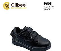 {есть:26,27,31} Туфли детские для мальчиков Clibee,  Артикул: P605-black [31]