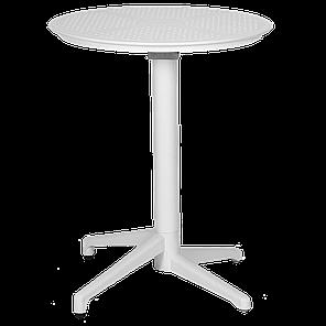 Стол с откидной столешницей Tilia Moon d60 см белая слоновая кость, фото 2