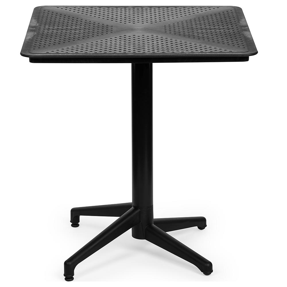 Стол с откидной столешницей Tilia Moon 70x70 см черный
