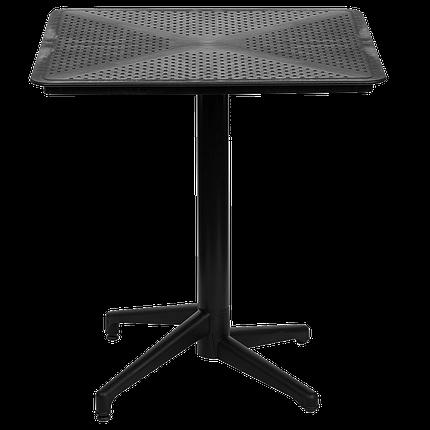Стол с откидной столешницей Tilia Moon 70x70 см черный, фото 2