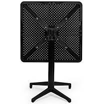 Стол с откидной столешницей Tilia Moon 70x70 см черный, фото 3