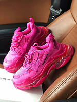 Triple S Clear Sole Pink