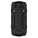 Телефон защищенный кнопочный противоударный водонепроницаемый с мощным фонариком 2E R240 (2020) черный, фото 3