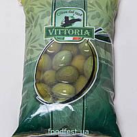 Оливки гіганти з/до ТМ Vittoria Olive Verdi Dolci Giganti 850/500г