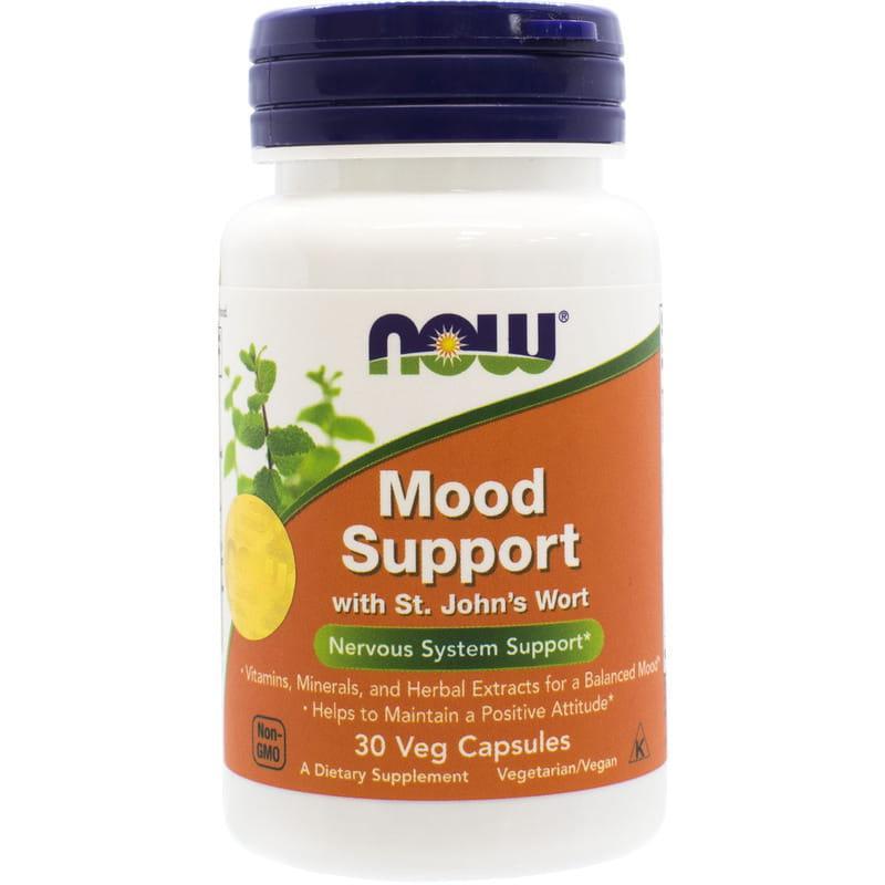 Поддержка нервной системы NOW Foods Mood Support 30 caps