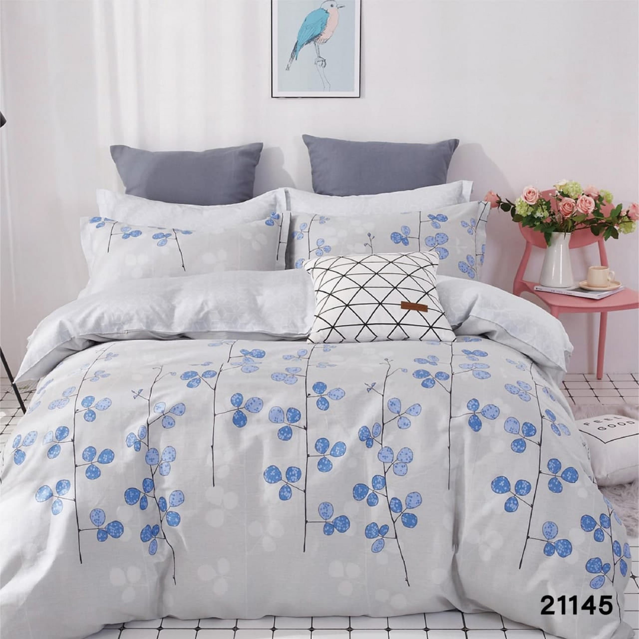 Комплект постельного белья полуторный Вилюта Ранфорс 21145