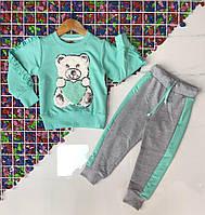 Детский костюм для девочки МИШКАразмер 2-8 лет, цвет уточняйте при заказе