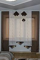 Шторные панельки в кухню, спальню яп-15