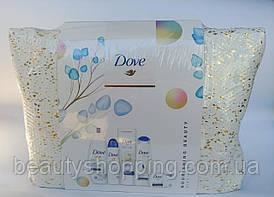 Dove Nourishing Beauty Gift Set подарочный набор 5 предметов + косметичка