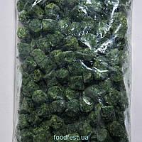 Шпинат-брикет різаний заморожений, фасування від 2,5 кг