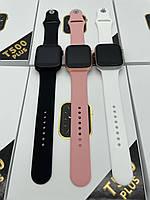 Умные Смарт часы Smart watch T500 plus, для спорта с пульсометром шагомером, фитнес браслет