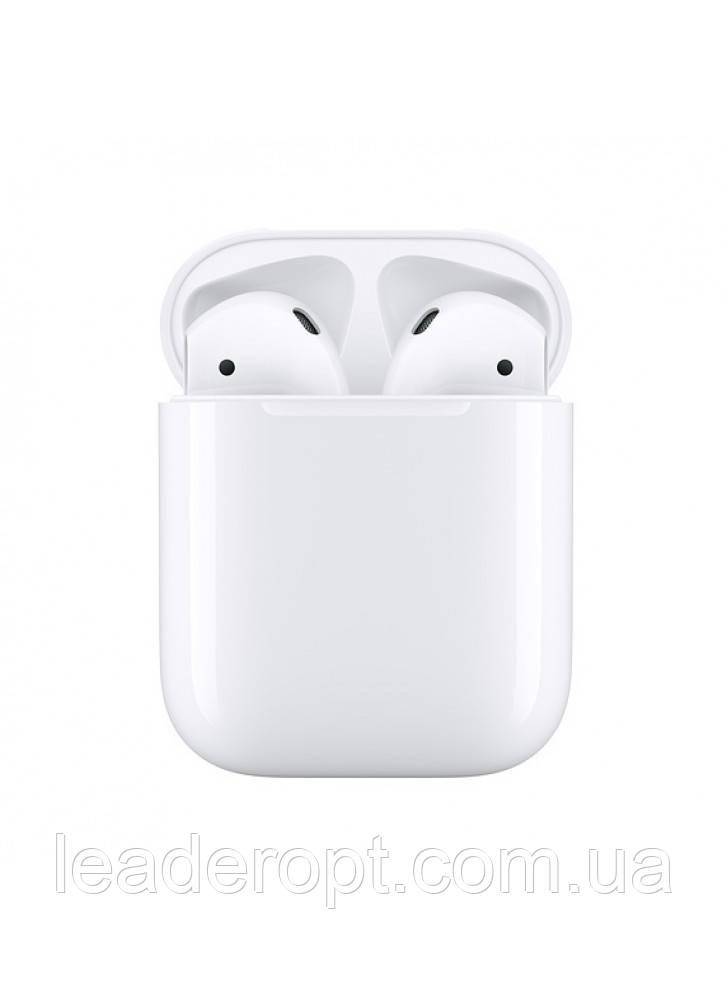 ОПТ Наушники гарнитура Apple беспроводные Airpods 2, Чип - DJILI - D8 NEW