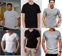 """Однотонная футболка """"белая серая черная"""" ARMENDO PREMIUM (пр-ва Турция) БЕСПЛАТНАЯ ДОСТАВКА при заказе от 3 шт"""