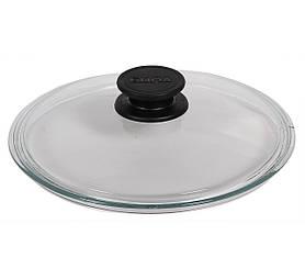 Крышка Биол стеклянная 22см низкая круглая НК220