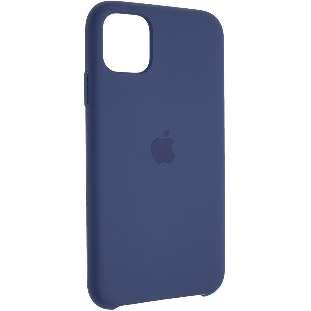 "Чехол Silicon iPhone 11 Pro - ""Alaska blue №57"""