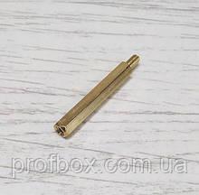 Стійка металева гайка/гвинт М3х30+6
