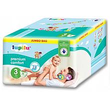 Підгузники Lupilu Premium Comfort №3 (4-9 кг) 98 шт