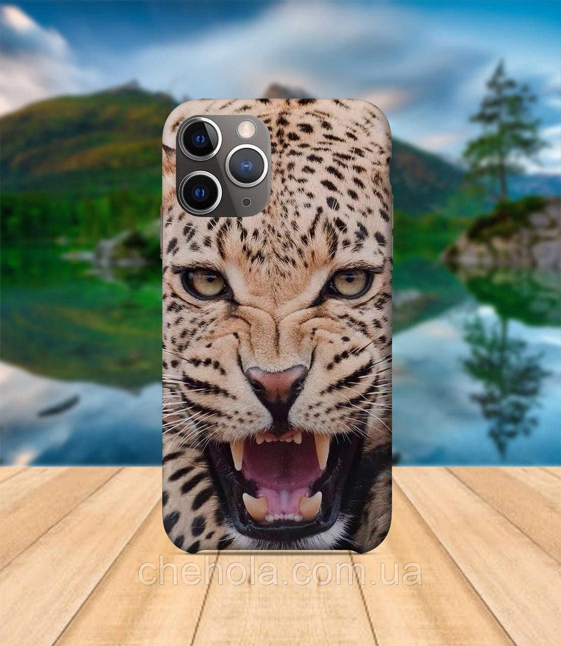 Чохол iPhone 11 PRO MAX Леопард з принтом