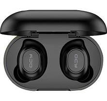 Бездротові навушники QCY T9 TWS Earphone Black, фото 2