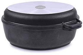 Гусятниця Біол антипригарна з кришкою-сковородою 4 л Г401П