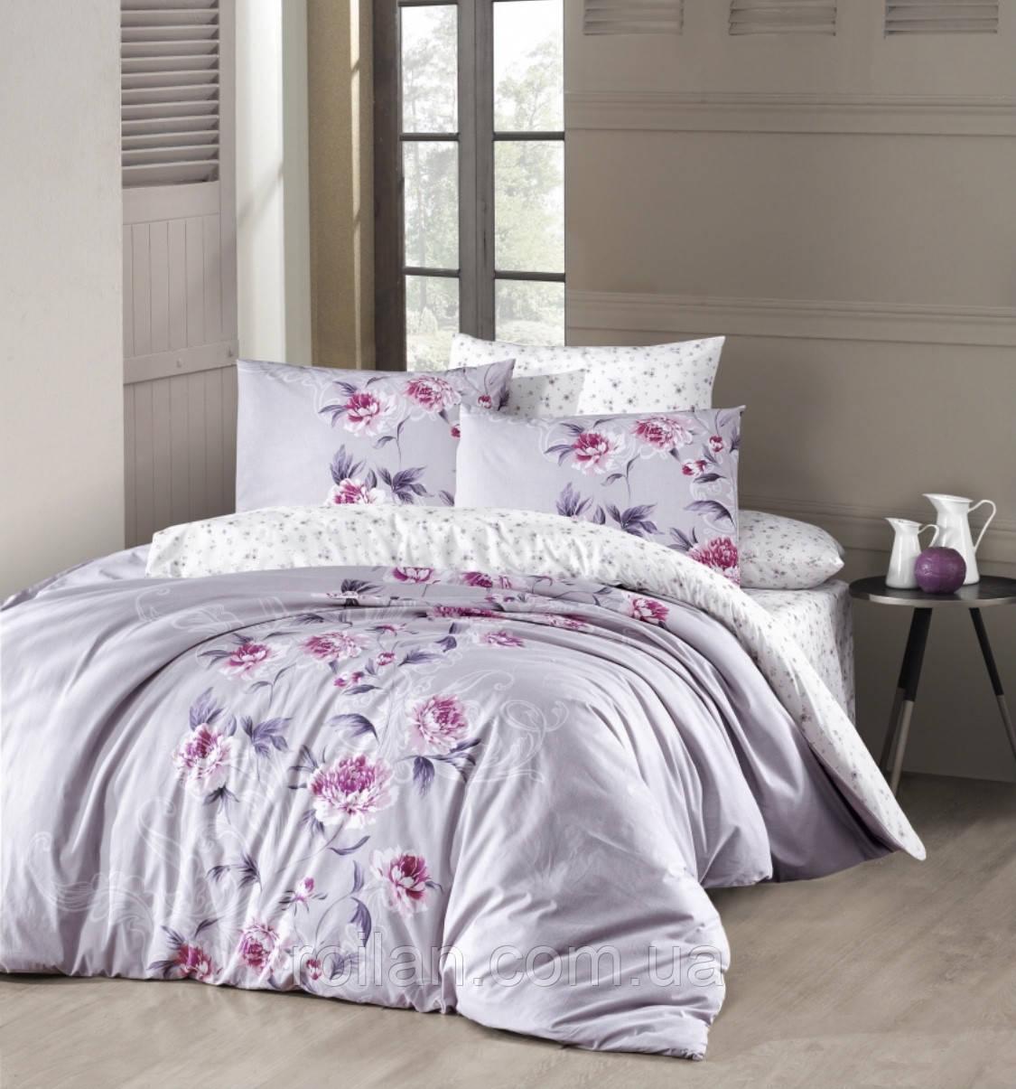Евро комплект постельного белья First Choice Ranforce