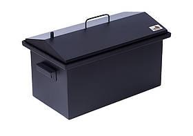 Коптильня для копчения окрашенная Домик 1,5 мм (520х300х310)