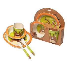 Дитячий набір посуду Оленя (5 предметів)