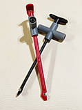 Cleqee P5010 2шт щупы с иглой с прокалыванием проводов  крюк тестер для мультиметра авто диагностики 10A/1000V, фото 5