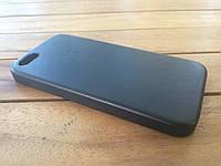 Кожаный чехол для iPhone 5/5s/SE black с логотипом (copy)