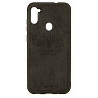 Чехол Deer для Samsung Galaxy M11 / M115 бампер противоударный Черный