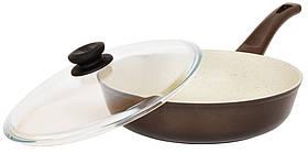 Сковорода Биол Класик декор з бакелітовою ручкою 24 см 24077ПС