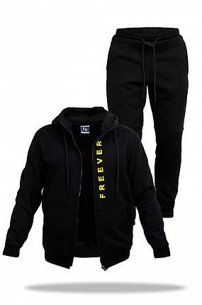 Спортивный костюм мужской Freever SF 8606 черный, фото 2