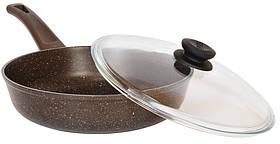 """Сковорода Биол """"Класик декор"""" з бакелітовою ручкою 24 см 24076ПС"""