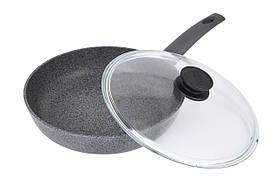 Сковорода Биол Граніт грей з антипригарним покриттям 28 см 28134ПС