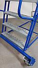 Складская лестница платформенная Н 3500 мм Б/У, фото 3