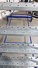 Складська драбина платформова Н 3500 мм Б/У, фото 5