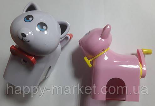 Точилка (механічна) № 0701 Кішечка, 2цв, фото 2