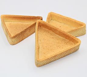 Тарти напівфабрикат трикутні  56 шт в коробці